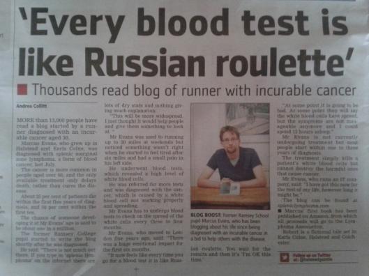 Article Halstead Gazette
