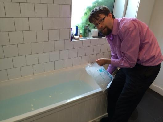 ice bath anyone?
